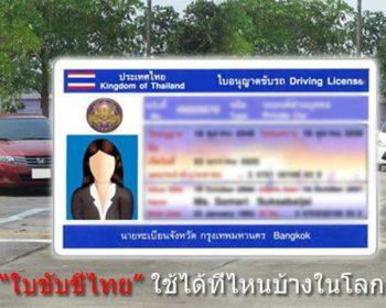 Thai-driver's-license